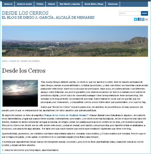 Desde Los Cerros 1 año